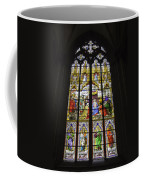 Cologne Cathedral Stained Glass Window Of The Adoration Of The Magi Coffee Mug