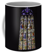 Cologne Cathedral Stained Glass Window Of The Three Holy Kings Coffee Mug