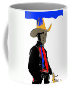 Colonel Tim Mccoy Unknown Film Card No Date  Coffee Mug