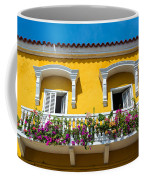 Colonial Balcony In Cartagena Coffee Mug