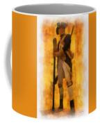 Colonial Soldier Photo Art  Coffee Mug