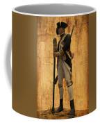 Colonial Soldier Coffee Mug by Thomas Woolworth