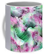 Color Abstract Red-green Coffee Mug