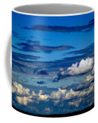 Color Burned Clouds Coffee Mug