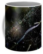 Color Dots Spider Net Coffee Mug
