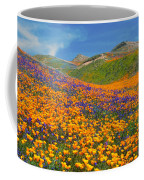 Color Filled Hills Coffee Mug