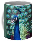 Color Me Peacock Coffee Mug
