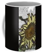 Color Me Sunflower Coffee Mug