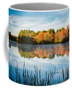 Color On Grist Millpond Coffee Mug by Michael Blanchette