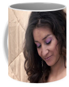 Color Portrait Young Spanish Woman II Coffee Mug