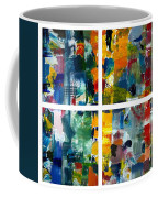 Color Relationships Collage Coffee Mug