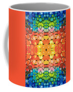 Color Revival - Abstract Art By Sharon Cummings Coffee Mug