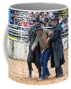 Color Rodeo Shootout Deputies Arrest Outlaw Coffee Mug