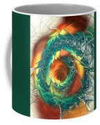 Color Spiral Coffee Mug