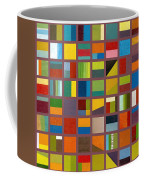 Color Study Collage 65 Coffee Mug