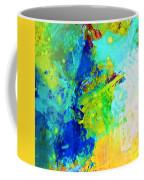 Color Wash Abstract Coffee Mug