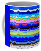 Color Waves No. 4 Coffee Mug