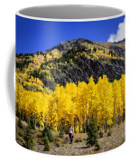 Colorado Autumn Hike Coffee Mug