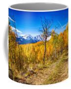 Colorado Backcountry Autumn View Coffee Mug