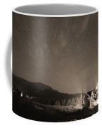 Colorado Chapel On The Rock Dreamy Night Sepia Sky Coffee Mug by James BO  Insogna