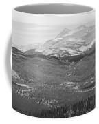 Colorado Continental Divide Panorama Hdr Bw Coffee Mug