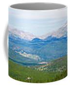 Colorado Continental Divide Panorama Hdr Coffee Mug