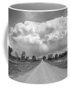 Colorado Country Road Stormin Bw Skies Coffee Mug by James BO  Insogna
