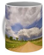 Colorado Country Road Stormin Skies Coffee Mug