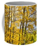 Colorado Fall Aspens 2 Coffee Mug