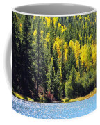 Colorado Mountain Lake In Fall Coffee Mug