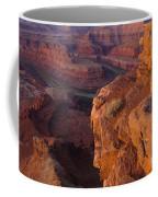 Colorado River At Dawn Coffee Mug