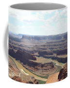 Colorado River From Dead Horse Point  Coffee Mug