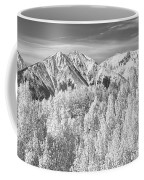 Colorado Rocky Mountain Autumn Beauty Bw Coffee Mug