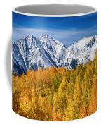 Colorado Rocky Mountain Autumn Magic Coffee Mug