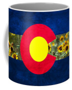Colorado State Flag In Van Gogh Coffee Mug
