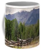 Colorado Wilson Peak Clouds Coffee Mug