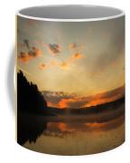 Colored Clouds Coffee Mug