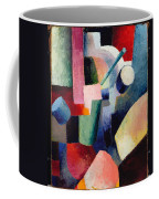 Colored Composition Of Forms   Coffee Mug