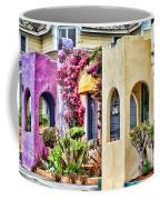 Colored Cottages By Diana Sainz Coffee Mug