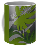 Colored Jungle Green Coffee Mug