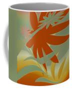 Colored Jungle Orange Splash Coffee Mug