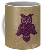 Colored Owl 1 Of 4  Coffee Mug