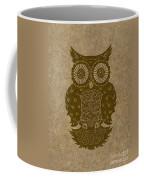 Colored Owl 3 Of 4  Coffee Mug