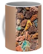 Colored Stone Rock Church Wall - Cedar City - Utah Coffee Mug