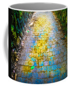Colored Stones And Lichen Covered Bridge Coffee Mug