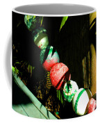 Colorful Accents In Florida Gardens Coffee Mug by Susanne Van Hulst