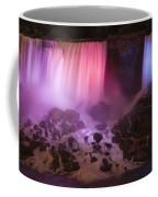 Colorful American Falls Coffee Mug by Adam Romanowicz