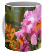 Colorful Assorted Cattleya Orchids Coffee Mug