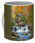 Colorful Autumn Grist Mill Coffee Mug