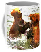 Colorful Bears Coffee Mug